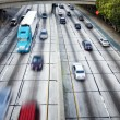 Traffic on the highway — Stock Photo