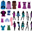 Fashion — Vector de stock #6489016