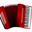 Accordion — Stock Vector
