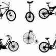 Bicycles — Vector de stock #6489850