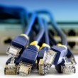 Network cables — Stock Photo #6485690