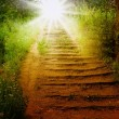Way to heaven - Stock Photo