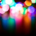 Defocused lights — Stock Photo #6488650