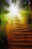 Camino al cielo. — Foto de Stock