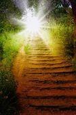 Droga do nieba. — Zdjęcie stockowe