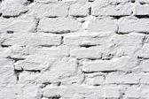 Pared de ladrillo blanco — Foto de Stock