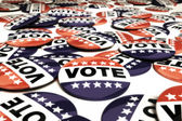 Pinos de voto múltiplo — Foto Stock