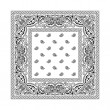 Royalty-Free Stock Vector Image: Bandana 2 (White)