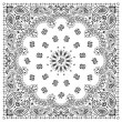 Royalty-Free Stock Vector Image: Bandana White