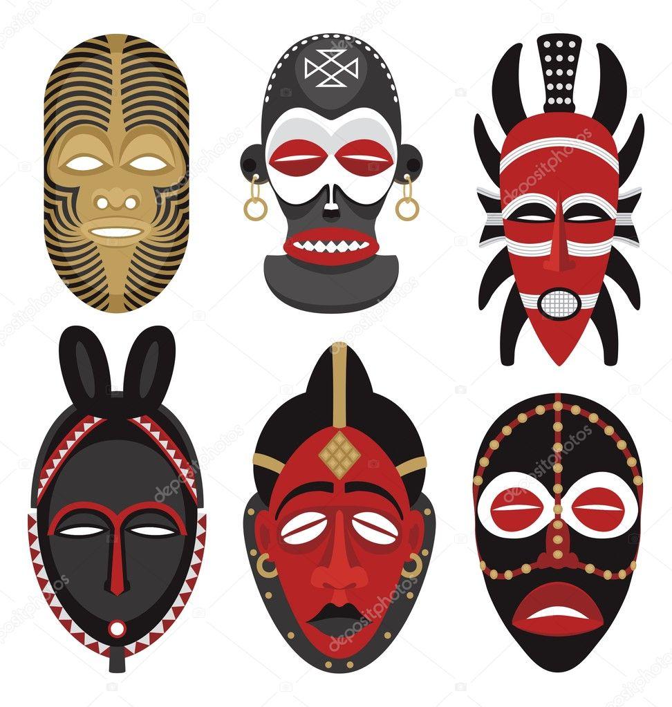 Как сделать маску аборигена
