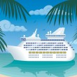 Stock Vector: Cruise