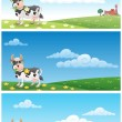 Dairy Farm - Imagen vectorial