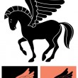 Royalty-Free Stock Vector Image: Decorative Pegasus