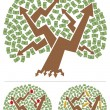 Investments Tree — Imagen vectorial