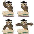 Stock Vector: Professor Owl 2