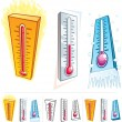 Thermometer — Stock Vector