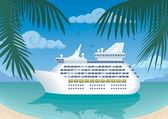 Cruise — Stock Vector