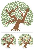 Investments Tree — Stock Vector