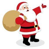 Santa Presents — Stock Vector