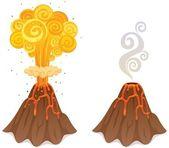 Volcano — Wektor stockowy