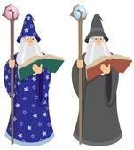 Wizard — Stock Vector