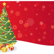 Christmas Tree Background 3 — Stock Vector
