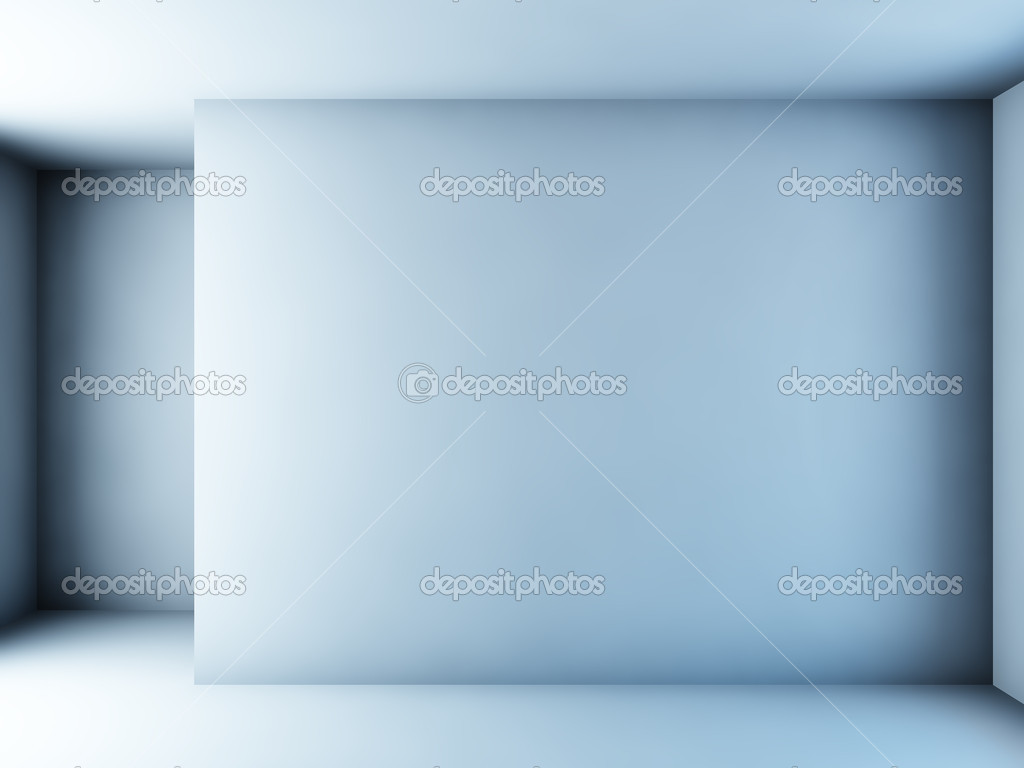 A 3D illustration of an empty white room. — Stock Photo #6594895