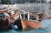 Abu Dhabi Dhow — Stock Photo