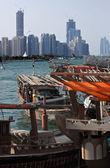 Abu Dhabi Dhau — Stockfoto