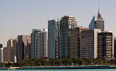 Abu Dhabi Skyline — Stock Photo
