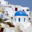Greek village glimpse — Stock Photo