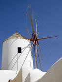 Greek windmill — Stock Photo