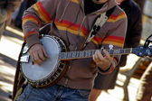 Banjo player — Stock Photo