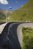 Dam in italy — Stock Photo