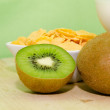 Colazione con kiwi - Stock Photo