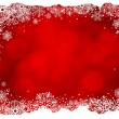 Royalty-Free Stock Vektorgrafik: Frame of snowflakes
