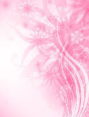 Rosa hintergrund — Stockvektor