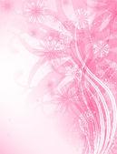 Roze achtergrond — Stockvector