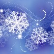 Vector de stock : Winter background