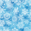 Snowflakes pattern - Imagens vectoriais em stock