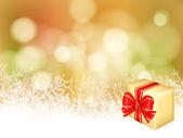 Vánoční dárek — Stock vektor