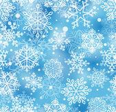 Patrón de los copos de nieve — Vector de stock