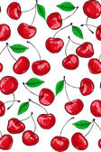 Cherry pattern — Vettoriale Stock