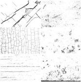 Textures grunge — Vecteur