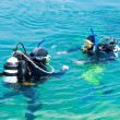Divers iniciation - Foto Stock