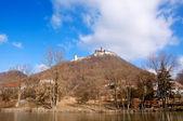 Slottet på kullen — Stockfoto
