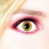 Woman's Eye — Stock Photo