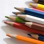 Lapices de colores — Stock Photo