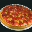 Tarta de fresas — Stock Photo