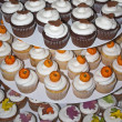 Cupcakes Decorated for Autumn - Stock Photo